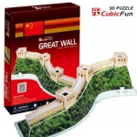 The Great Wall(China) Total: 55 pcs Model Size: 48*18*12.5 cm. โมเดล 3มิติ กำแพงเมืองจีน