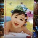 รูปเด็ก JC012 จิ๊กซอร์ 500 ชิ้น Numbering Jigsaw Puzzle 500 Pieces Size 53 x 38 cm.