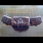 กระเป๋าหนังแท้คาดเอว (Handmade)