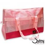 กระเป๋าใส่สุนัข DODOPET สีชมพู