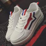 [Pre-Order]รองเท้าผ้าใบแฟชั่นผู้หญิง สไตล์เกาหลี size 35-39