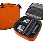 กระเป๋ากล้อง ยี่ห้อ TMC Sport ไซส์ M ( 22 x 20 x 7 cm ) - [ส้ม]
