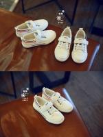 รองเท้าผ้าใบเด็กสีดำ งานแฟชั่นเกาหลี สำหรับเด็ก วัสดุผ้าอย่างดี