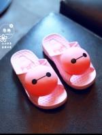 รองเท้าแตะเด็กการ์ตูนสีชมพู ใส่ได้ทั้งเด็กหญิงและชาย แนวลำลอง