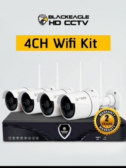 ชุดกล้องวงจรปิดไร้สาย รุ่น BE-W4-IPC720P