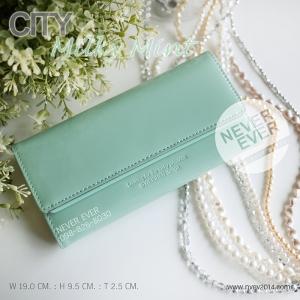 กระเป๋าสตางค์ผู้หญิง CITY-Milky Mint