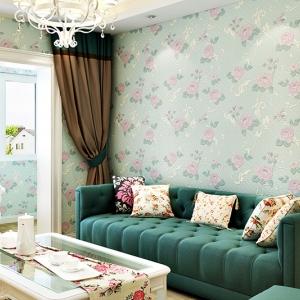 wallpaper ติดผนัง ลายดอกไม้ 3 D