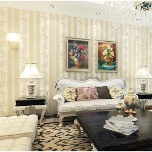 wallpaper ติดผนัง สีขาว สไตล์โมเดิร์น วินเทจ