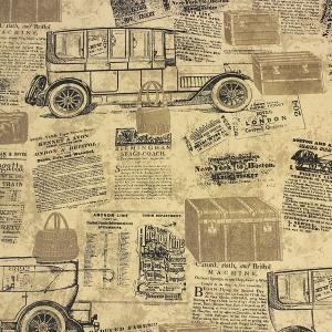 wallpaper ลายวินเทจย้อนยุค
