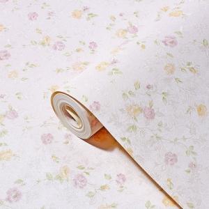wallpaper ติดผนัง ลายดอกไม้ วินเทจ