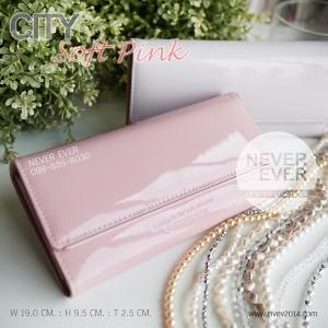กระเป๋าสตางค์ผู้หญิง CITY-Soft Pink
