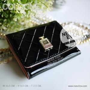 กระเป๋าสตางค์ผู้หญิง COLOGNE-Black