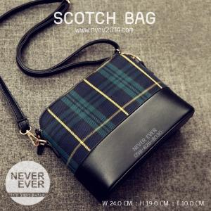 กระเป๋าสะพายข้าง รุ่น SCOTCH BAG-Green