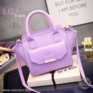 กระเป๋าสะพายข้าง รุ่น LIZA สีม่วง