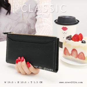 กระเป๋าสตางค์ผู้หญิง รุ่น CLASSIC สีดำ
