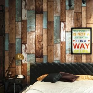 wallpaper ติดผนัง ลายไม้ สไตล์โมเดิร์น