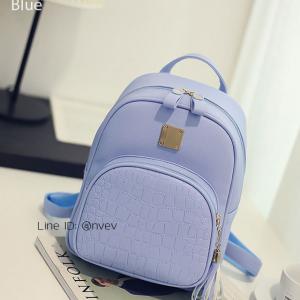 กระเป๋าเป้ผู้หญิง รุ่น AMAZ BAG สีฟ้า