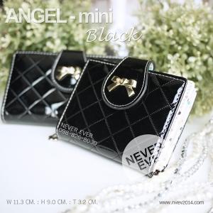 กระเป๋าสตางค์ผู้หญิง ANGEL-mini-Black