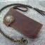 กระเป๋าหนังแท้ใส่แบงค์แฮนด์เมด A1 (มีชิ้นเดียว) thumbnail 1