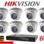 HIKVISION Camera set 8 DS-2CE56D0T-IR x 8 DS-7208HQHI-F2/N x 1 thumbnail 1