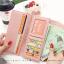 กระเป๋าสตางค์ผู้หญิง รุ่น LETTER สีชมพู thumbnail 5