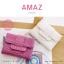 กระเป๋าสตางค์ผู้หญิง ขนาดกลาง รุ่น AMAZ สีม่วง thumbnail 5