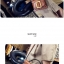 กระเป๋าหนังพรีเมี่ยม PU ทรง boyy bags (Green) thumbnail 8