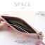 กระเป๋าสตางค์ผู้หญิง ทรงถุง รุ่น SPACE สีฟ้า thumbnail 14
