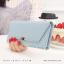 กระเป๋าสตางค์ผู้หญิง รุ่น LETTER สีชมพู thumbnail 16
