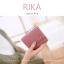 กระเป๋าสตางค์ผู้หญิง รุ่น RIKA สี Indian Red แดงอินเดียน thumbnail 2