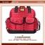 TP12058 กระเป๋าเก็บสัมภาระคุณแม่ ใช้ได้ทั้งเป็นเเบบหิ้วและสะพายเป้ ลายจุด สีแดง thumbnail 1
