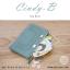 กระเป๋าสตางค์ผู้หญิง ทรงถุง สีแดง รุ่น CINDY-B thumbnail 16