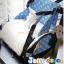 TP12059 กระเป๋าเก็บสัมภาระคุณแม่ เอนกประสงค์ ใช้เป็นเก้าเสริมหนุนรองนั่งได้ สีเขียว thumbnail 5