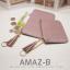 กระเป๋าสตางค์ผู้หญิง ทรงถุง รุ่น AMAZ-BL สีดำ thumbnail 8