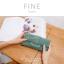 กระเป๋าสตางค์ผู้หญิง FINE สีเขียว thumbnail 2