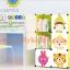 A10309 ตู้DIY เก็บหนังสือ ของเล่น สัมภาระลูกน้อย สีชมพู แบบ9ช่อง thumbnail 3