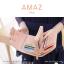 กระเป๋าสตางค์ผู้หญิง ขนาดกลาง รุ่น AMAZ สีม่วง thumbnail 34