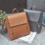 กระเป๋าเป้ผู้หญิง รุ่น RYO สีน้ำตาล thumbnail 6
