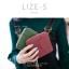 กระเป๋าสตางค์ผู้หญิง LIZE-S สีเขียว thumbnail 13