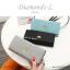 กระเป๋าสตางค์ผู้หญิง ใบยาว รุ่น DIAMONDS-L สีน้ำเงิน thumbnail 6
