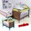 B10102 เตียงนอนเด็ก แบบน่ารัก สินค้าใหม่นำเข้าพร้อมชั้นวางที่เปลี่ยนผ้าอ้อม (A1สีฟ้า) thumbnail 15
