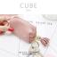 กระเป๋าสตางค์ ใส่เหรียญ รุ่น CUBE สีม่วง thumbnail 5