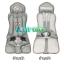 C10102 Car Seat คาร์ซีท แบบพกพา(สีเขึยวลายทหาร) thumbnail 14