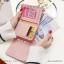 กระเป๋าสตางค์ผู้หญิง ใบสั้น รุ่น DIAMONDS-S สีดำ thumbnail 6