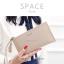 กระเป๋าสตางค์ผู้หญิง ทรงถุง รุ่น SPACE สีฟ้า thumbnail 5