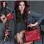 กระเป๋าหนัง kelly red 28cm SALE!! thumbnail 1