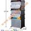 A10111 ตู้เก็บรองเท้า DIY แบบ 12 ช่อง สีดำ thumbnail 3