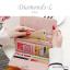 กระเป๋าสตางค์ผู้หญิง ใบยาว รุ่น DIAMONDS-L สีน้ำเงิน thumbnail 18