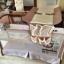 B10123 Playpen เตียงนอนเด็ก สินค้าใหม่นำเข้าพร้อมชั้นวางที่เปลี่ยนผ้าอ้อม (BP1สีชมพู) thumbnail 8
