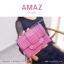 กระเป๋าสตางค์ผู้หญิง ขนาดกลาง รุ่น AMAZ สีม่วง thumbnail 1